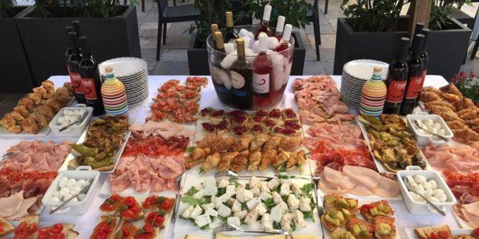 Idee per preparare il buffet
